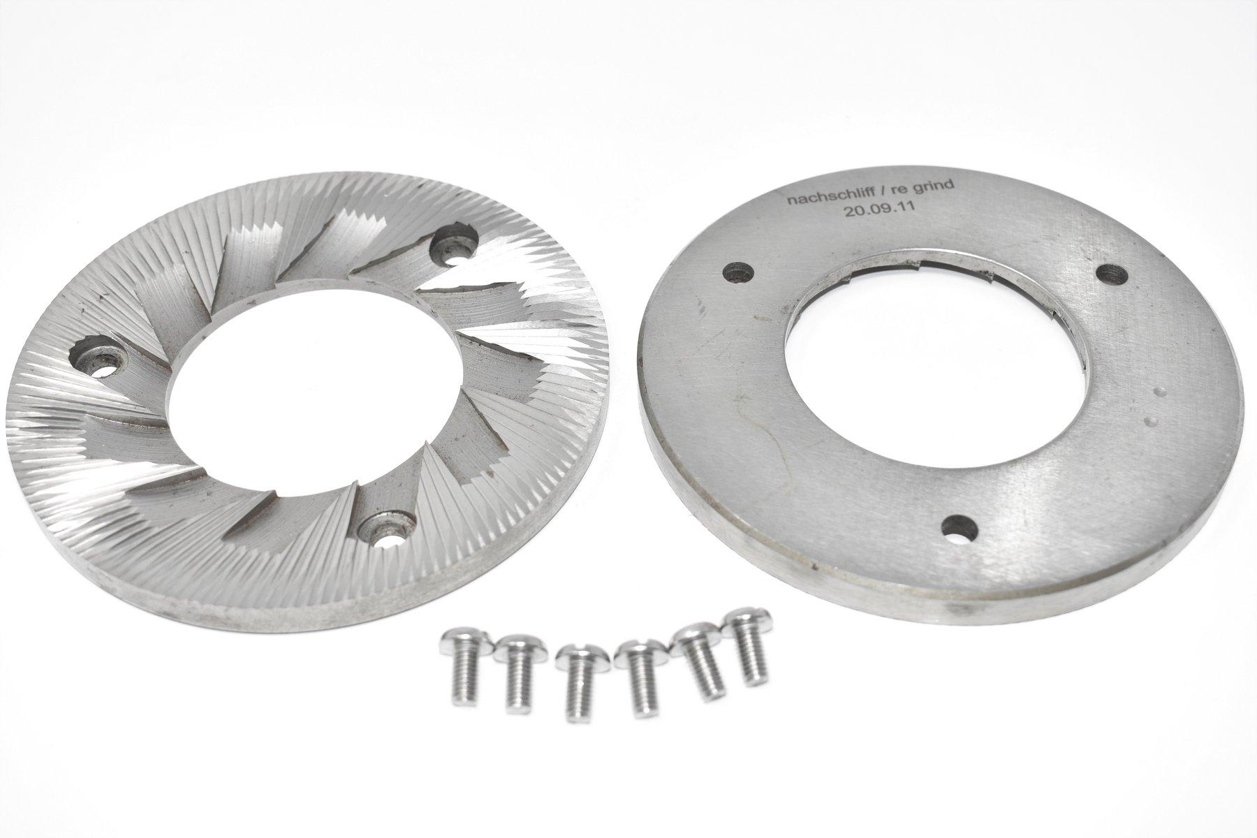 Meules VTA 6S Mahlkönig en acier pour la série VTA | DM Tech