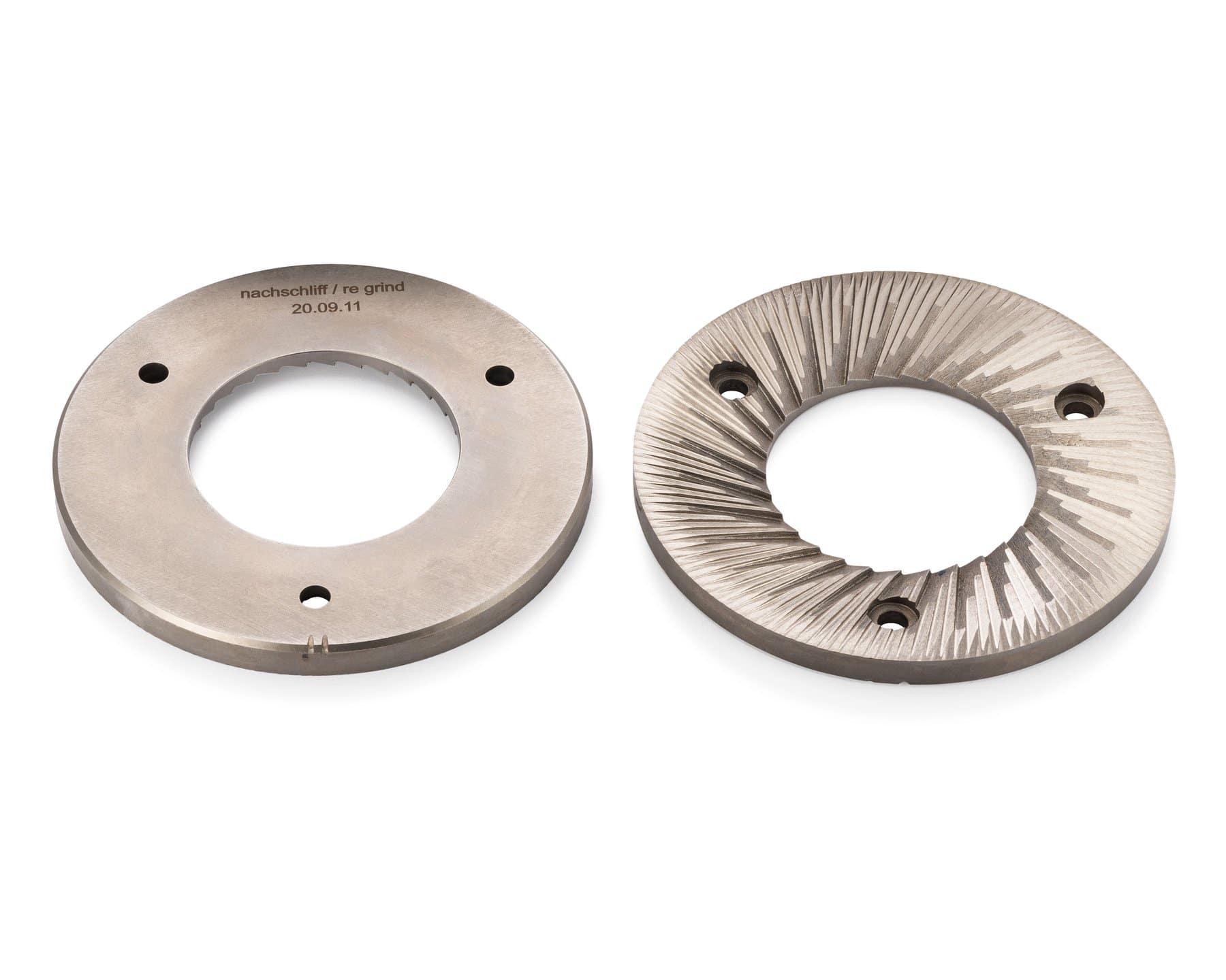 Meules VTA 6S 3 phases Anfim en acier pour la série VTA | DM Tech